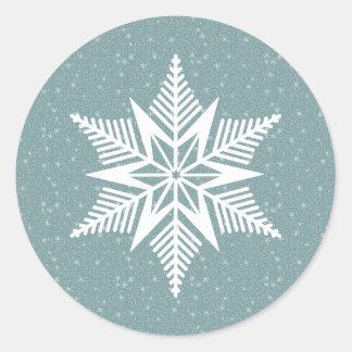 Etiqueta da agitação do inverno