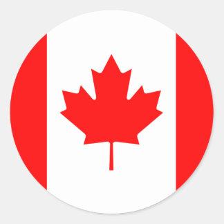 Etiqueta da bandeira de Canadá Adesivo