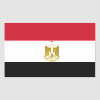 Etiqueta da bandeira de Egipto