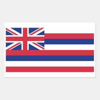 Etiqueta da bandeira do estado de Havaí - 4 por a