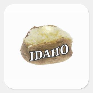 Etiqueta da batata de Idaho