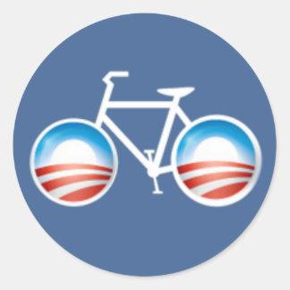 Etiqueta da bicicleta de Obama Adesivos