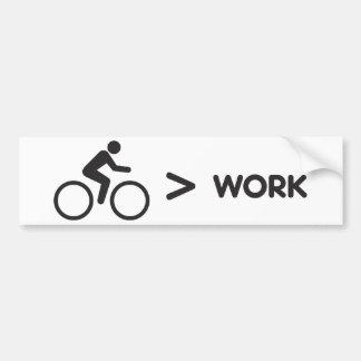 Etiqueta da bicicleta > do trabalho adesivo para carro