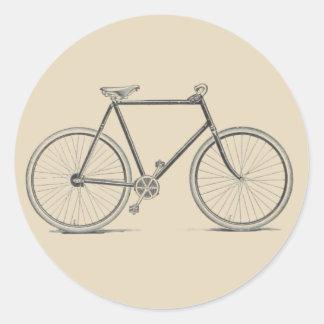 Etiqueta da bicicleta do vintage