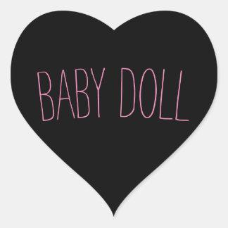 Etiqueta da boneca