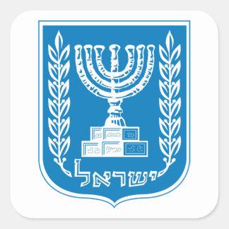 Etiqueta da brasão de Israel