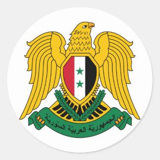 Etiqueta da brasão de Syria