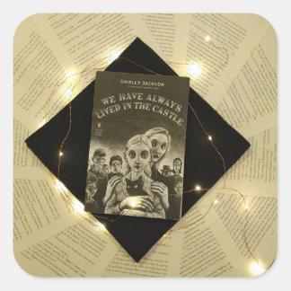 Etiqueta da capa do livro de Shirley Jackson