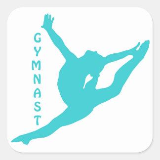 Etiqueta da cerceta do Gymnast