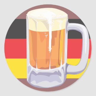 Etiqueta da cerveja de Oktoberfest