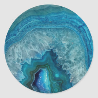 etiqueta da circular do mármore da pedra preciosa