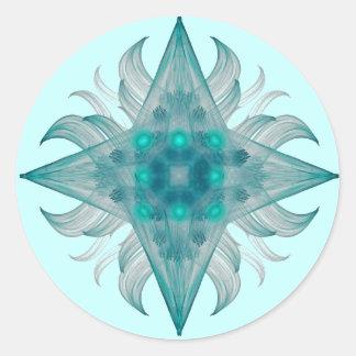 Etiqueta da estrela do Aquário