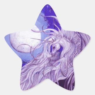 Etiqueta da estrela do unicórnio