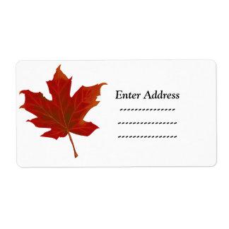 Etiqueta da etiqueta de endereço da folha de bordo