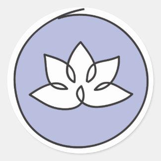 Etiqueta da flor de Lotus