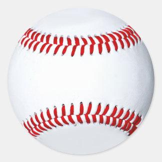 Etiqueta da foto do basebol adesivo
