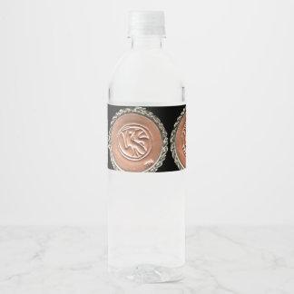 Etiqueta da garrafa da sociedade dos leitores do
