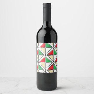 "Etiqueta da garrafa do vinho (ou o Champagne) (4"""