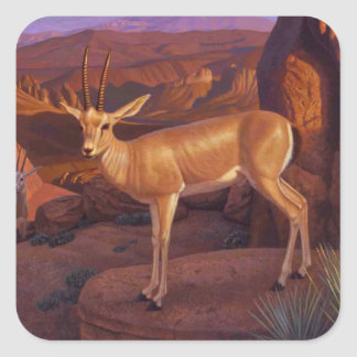 Etiqueta da gazela