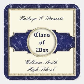 Etiqueta da graduação da elegância do Velho Mundo