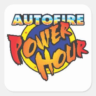 Etiqueta da hora do poder de Autofire