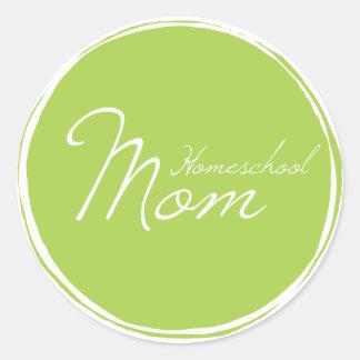 Etiqueta da mamã de Homeschool