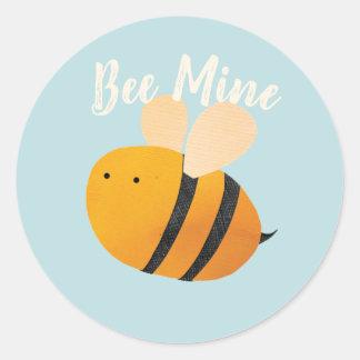 Etiqueta da mina da abelha