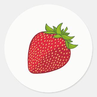 Etiqueta da morango