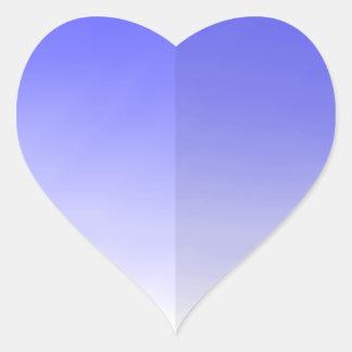 Etiqueta da pétala do coração da lavanda adesivos de corações