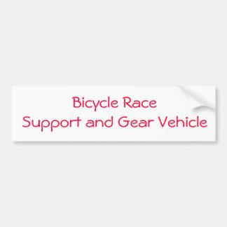 etiqueta da raça de bicicleta adesivo para carro