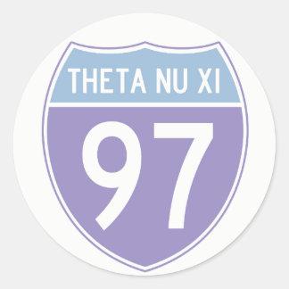 Etiqueta da rota 97