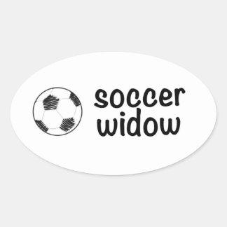 Etiqueta da viúva do futebol