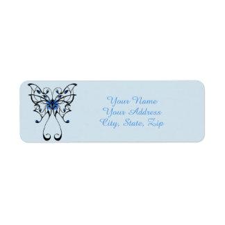 Etiqueta Dança 2 da borboleta