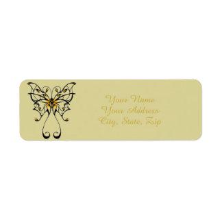Etiqueta Dança 4 da borboleta