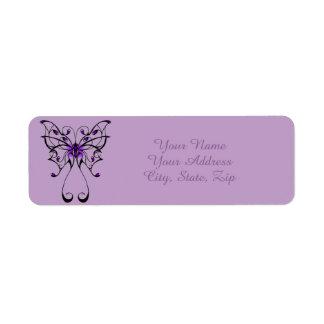 Etiqueta Dança da borboleta