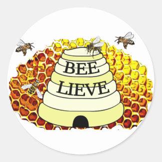 Etiqueta das abelhas do mel de Abelha-Lieve