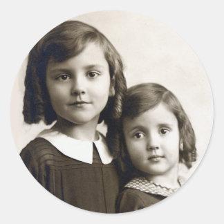 Etiqueta das irmãs de Swigert… cerca de 1938/1939