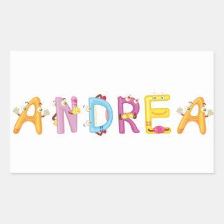 Etiqueta de Andrea