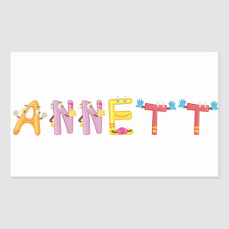 Etiqueta de Annett