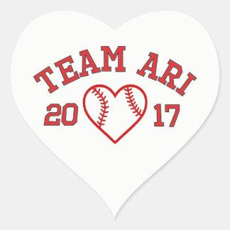 Etiqueta de Ari da equipe