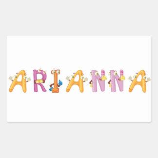Etiqueta de Arianna