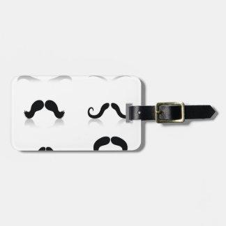 Etiqueta De Bagagem 116Set de Mustaches_rasterized