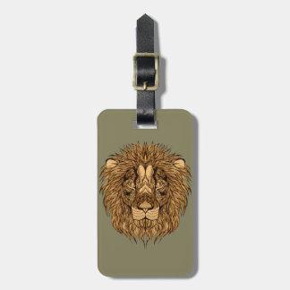 Etiqueta De Bagagem A cabeça do leão