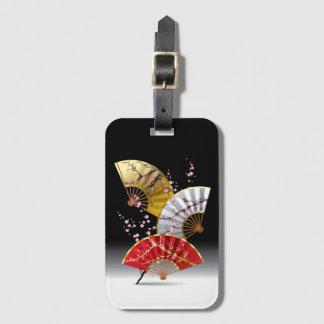 Etiqueta De Bagagem A cereja japonesa ventila o Tag da bagagem