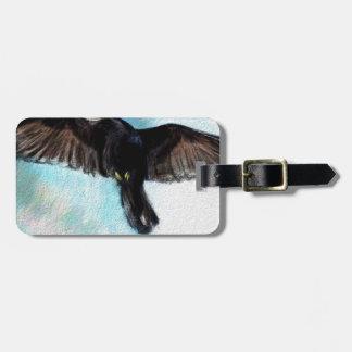 Etiqueta De Bagagem A fé é um corvo