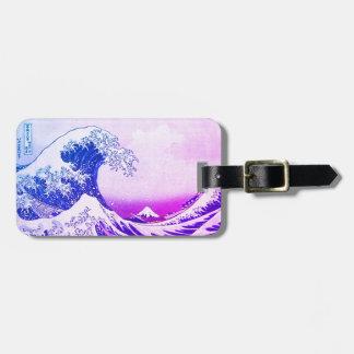 Etiqueta De Bagagem A grande onda fora de Kanagawa