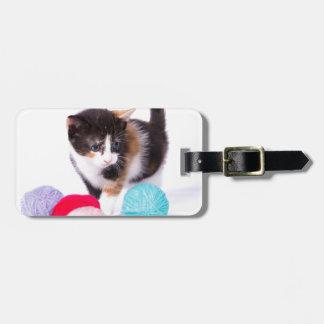 Etiqueta De Bagagem A Kitten