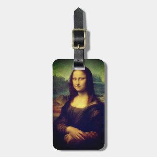 Etiqueta De Bagagem A Mona Lisa por Leonardo da Vinci
