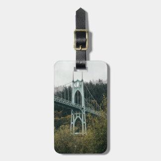 Etiqueta De Bagagem A ponte de St John em Portland