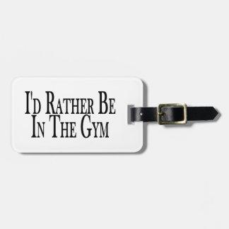 Etiqueta De Bagagem A preferencialmente esteja no Gym